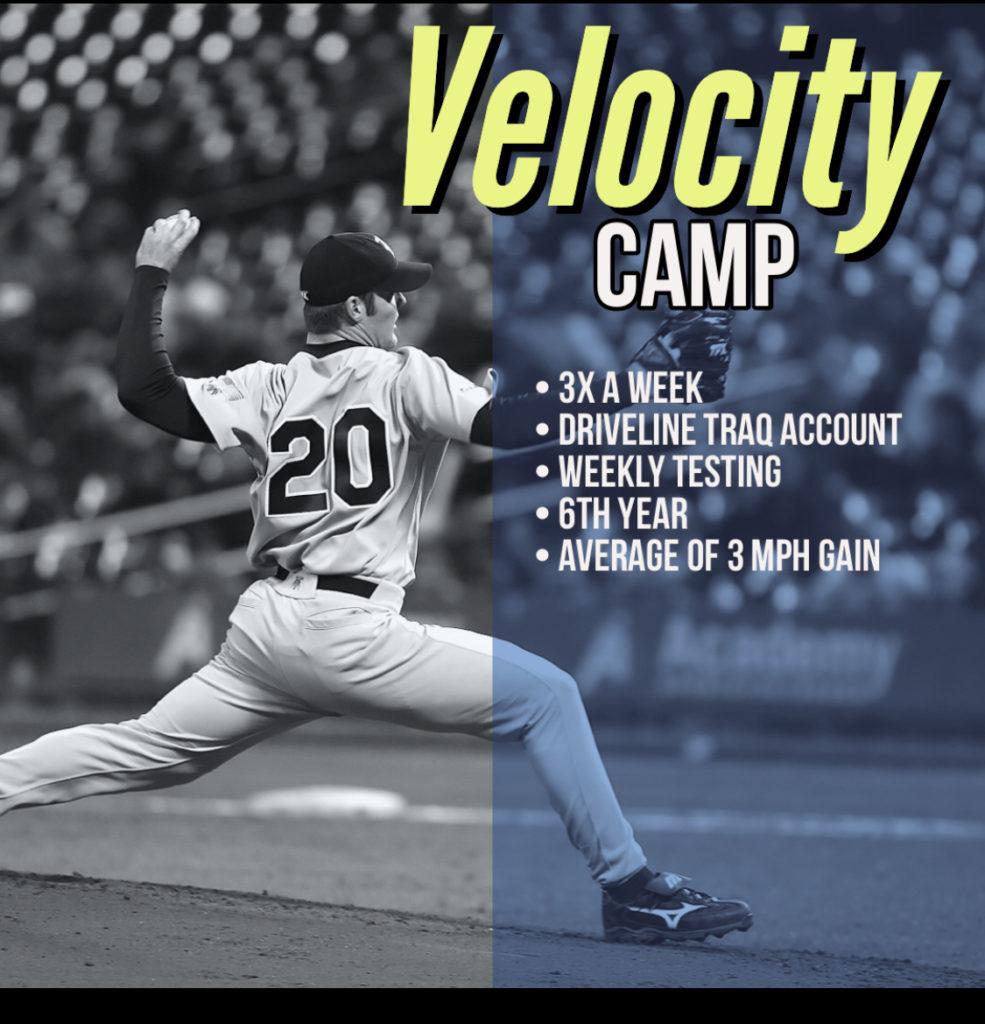 Velocity Camp Flyer